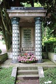 Grabmal Familie Heinrich Albert Nordfriedhof Wiesbaden