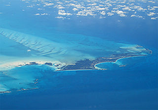 Great Harbour Cay Island in Bahamas