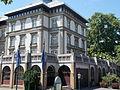 Grand Hotel. NE corner. - facade, detail (mid). - Margaret Island, Budapest, Hungary.JPG