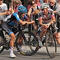 Grand Prix Cycliste de Québec 2012, Heinrich Haussler & Fabian Wegmann (7984877034).jpg