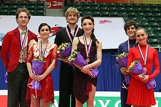 2010–11 Grand Prix of Figure Skating Final - The ice dancing medalists
