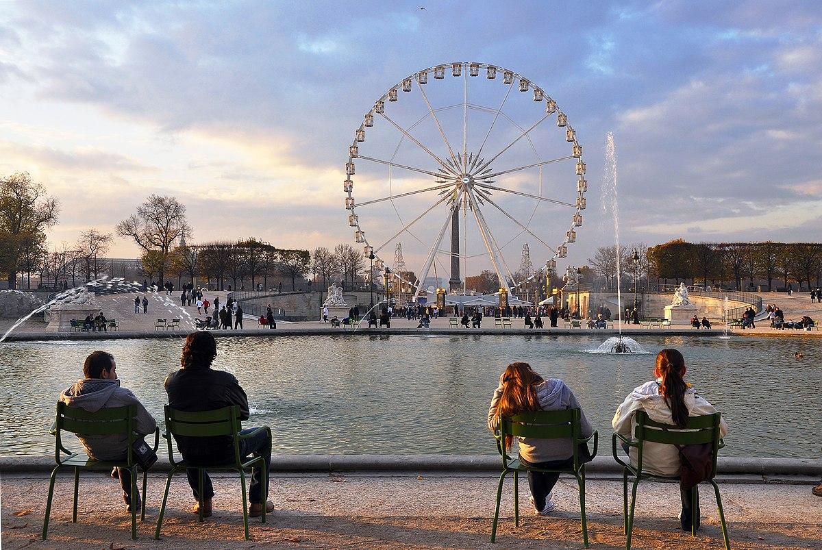 Fontaines du Jardin des Tuileries — Wikipédia