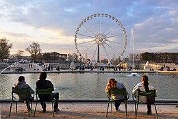 bassin jardin des tuileries