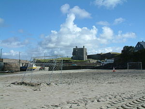 Clare Island - Image: Granuaile castle