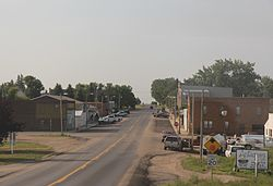 Looking north in Granville