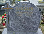 Grave of Bronisław Bekalik at Posada Cemetery in Sanok.jpg