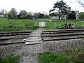Great Bedwyn - Level Crossing - geograph.org.uk - 1469415.jpg