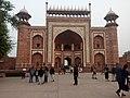 Great gate at the Taj Mahal compound, 2017.jpg