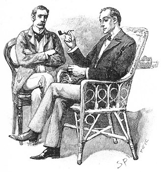 Dr. Watson - Dr Watson (left) and Sherlock Holmes, by Sidney Paget.
