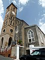 Grenada, Karibik - St. George's - Cathedral of the Immaculate Conception – view from Church Street - panoramio.jpg