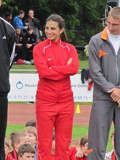 Gretta Taslakian Lebanese sprinter
