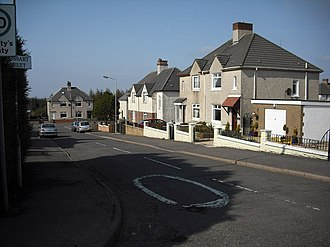 Shotts - Grossart Street Salsburgh named after the surgeon and historian William Grossart