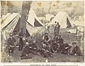 Group at Headquarters of the Army of the Potomac, Antietam, October 1862 MET DP116715.jpg