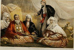 Thomas Witlam Atkinson - Atkinson's portrait of Sultan Souk, a Kazakh leader