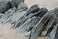 Grwyn Creigiau Afonwen Rock Groyne - geograph.org.uk - 549510.jpg