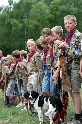 De Gule Spejdere i Danmark – Baden-Powell spejderne - Gule Spejdere members.