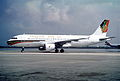 Gulf Air Airbus A320-212; A4O-ED, March 1993 (5689970614).jpg