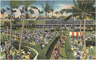 Gulfstream Park - Inside the venue, ca. 1930-1945