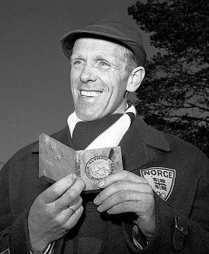 Håkon Brusveen - Brusveen at the 1960 Olympics