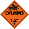 Class 1.2: Explosives