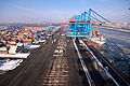 HHLA Container Terminal Altenwerder (CTA) in Hamburg - Winter 2010 - 05.jpg