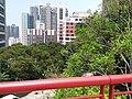 HKU 香港大學 syp MTR tower view 薄扶林道 Pok fu lam Road campus 校園 MTR Station Lift Tower April 2019 SSG 08.jpg