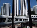 HK 葵芳 Kwai Fong Kwai Yan Road footbridge n New Kwai Fong Gardens facades May 2019 SSG 20.jpg