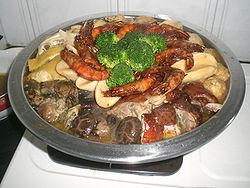 HK Food Poon Choi Pen Cai Big Bowl Feast Cafe de Coral.JPG