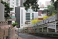HK Sheung Wan 卑利士道 Breezy Path 英華女學校 Ying Wa Girls' School construction site ramp June 2017 IX1.jpg