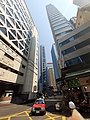 HK Sheung Wan 摩利臣街 Morrison Street 皇后大道中 Queen's Road Central October 2019 SS2 panoramic 04.jpg