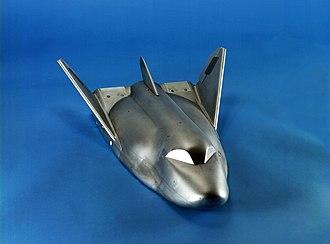Dream Chaser - Image: HL 20 wind tunnel model