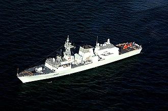 HMCS Charlottetown (FFH 339) - Image: HMCS Charlottetown arrives in Cleveland DVIDS1088657