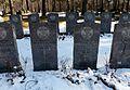 HMS Hunter graves at Håkvik cemetery, Narvik.jpg