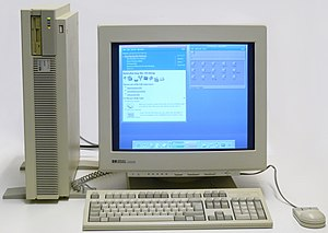 Common Desktop Environment - HP 9000 model 735 running HP-UX with CDE