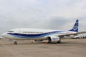 New Gen Airways - New Gen Airways Boeing 737-800 at Don Mueang International Airport.