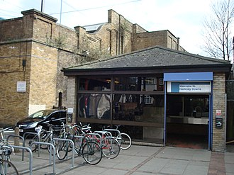 Hackney Downs railway station - Hackney Downs in 2010