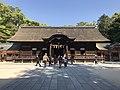 Haiden of Oyamazumi Shrine 1.jpg