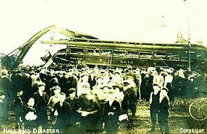 Hall Road rail accident - Image: Hall Road railway disaster