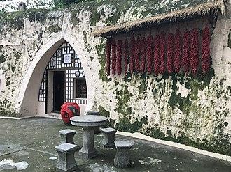 China Folk Culture Village - Cave-house
