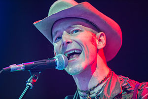 Hank Williams III - Williams performing at Roskilde Festival 2012.