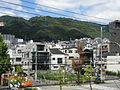 Hankyu Kasuganomichi Station platform - panoramio (18).jpg