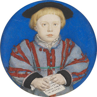 Charles Brandon, 3rd Duke of Suffolk - Charles Brandon, portrait miniature by Hans Holbein the Younger, 1541