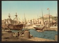 Harbor, Naples, Italy-LCCN2001700918.tif