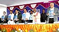 Harsh Vardhan releasing a brochure of CCBM, at the dedication ceremony of the Medical Biotechnology Complex of CSIR-CCMB to the Nation, in Hyderabad. The Minister of State for Labour and Employment (Independent Charge).jpg