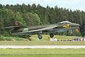 Hawker Hunter F58 34033 G red (SE-DXM) (8389885443).jpg