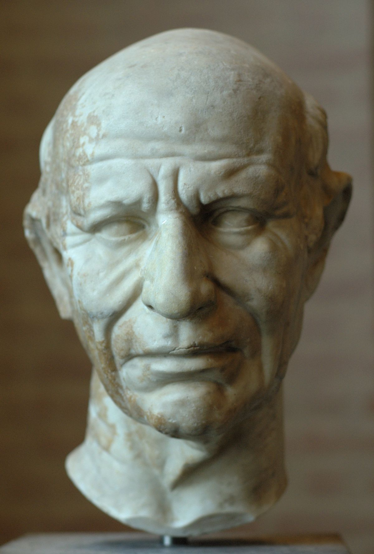 republican roman bust of a man Portraits of julius caesar: a proposal for 3d roman marble busts portrait is in agreement with the features of plastic arts of the late republican.