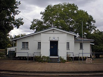 Helidon, Queensland - The Country Women's Association Rest Room opened in 1957 (Photo taken in 2009)