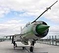 Helsinki. Jätkäsaari. MiG-21. Photo by Victor Belousov - panoramio.jpg