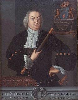 Hendrick Zwaardecroon Governor-General of the Dutch East Indies