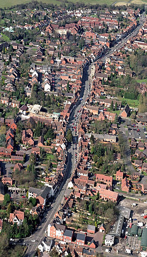 Henley-in-Arden - Aerial photo of Henley-in-Arden